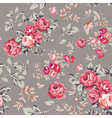Rose Seamless Pattern Pink Brown