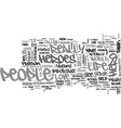what makes a hero text word cloud concept vector image vector image