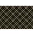 Leather black gold background vector image
