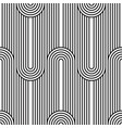 seamless art deco background texture pattern vector image