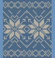 christmas seamless knitting background eps 10 vector image vector image