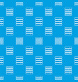 database pattern seamless blue vector image vector image