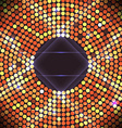Disco party background Ball nightclub and vector image