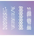 Minimalistic Geometric Patterns vector image vector image