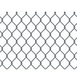 seamless metal industrial wire pattern on white vector image vector image