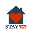 stay at home vector image vector image