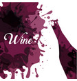 wine house design vector image vector image