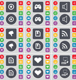 Arrow up Gamepad Sound Dislike File RSS Text file vector image