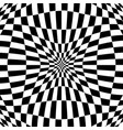 checkered pattern with distortion effect deformed vector image vector image