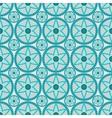 circular floral ornament seamless vector image
