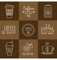 Coffee design set vector image