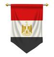 egypt pennant vector image