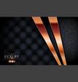 modern black luxury leather background vector image vector image