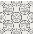 Seamless pattern with mystical astrological sign vector image vector image