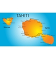 Tahiti vector image vector image