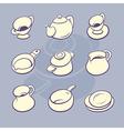 Cookware set vector image