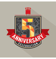5 Years Anniversary Badge Design
