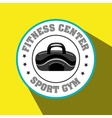 bag gym sport vector image