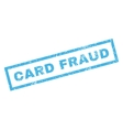 Card Fraud Rubber Stamp vector image vector image