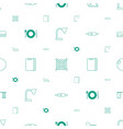 equipment icons pattern seamless white background vector image vector image