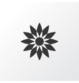 flower icon symbol premium quality isolated vector image vector image