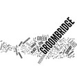 groombridge land with potential text background vector image vector image