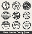 Retro labels vector | Price: 3 Credits (USD $3)