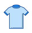 t-shirt line icon vector image