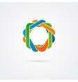 Abstract conundrum logo vector image vector image