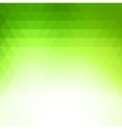 Abstract green geometric technology background vector image vector image