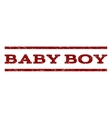 Baby Boy Watermark Stamp vector image vector image