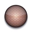Brick Pattern App Icon vector image vector image
