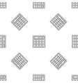 calculator pattern seamless vector image vector image