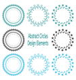 circle design element vector image