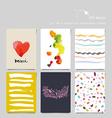 Creative universal card vector image vector image