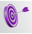Dart hitting a target Success concept