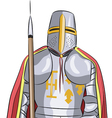 knight vector image vector image