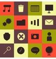 Minimalism Icons Set vector image vector image