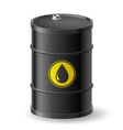 Oil Barrel vector image vector image
