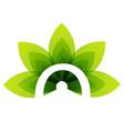Organic Product logo vector image vector image