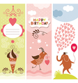 set holiday banners vector image vector image