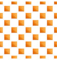 square coffee biscuit pattern seamless vector image