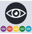 Stock Linear icon eyes vector image vector image