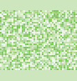 the light green square mosaic tiles background vector image vector image