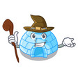 witch igloo ice house isolated on mascot vector image