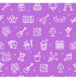 Party Background Pattern vector image