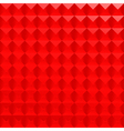 abstract red poligonal background vector image vector image