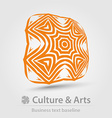 Culture and art business icon vector image vector image