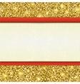 Invitation decorative card template vector image vector image