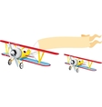 Plane with banner vector | Price: 3 Credits (USD $3)